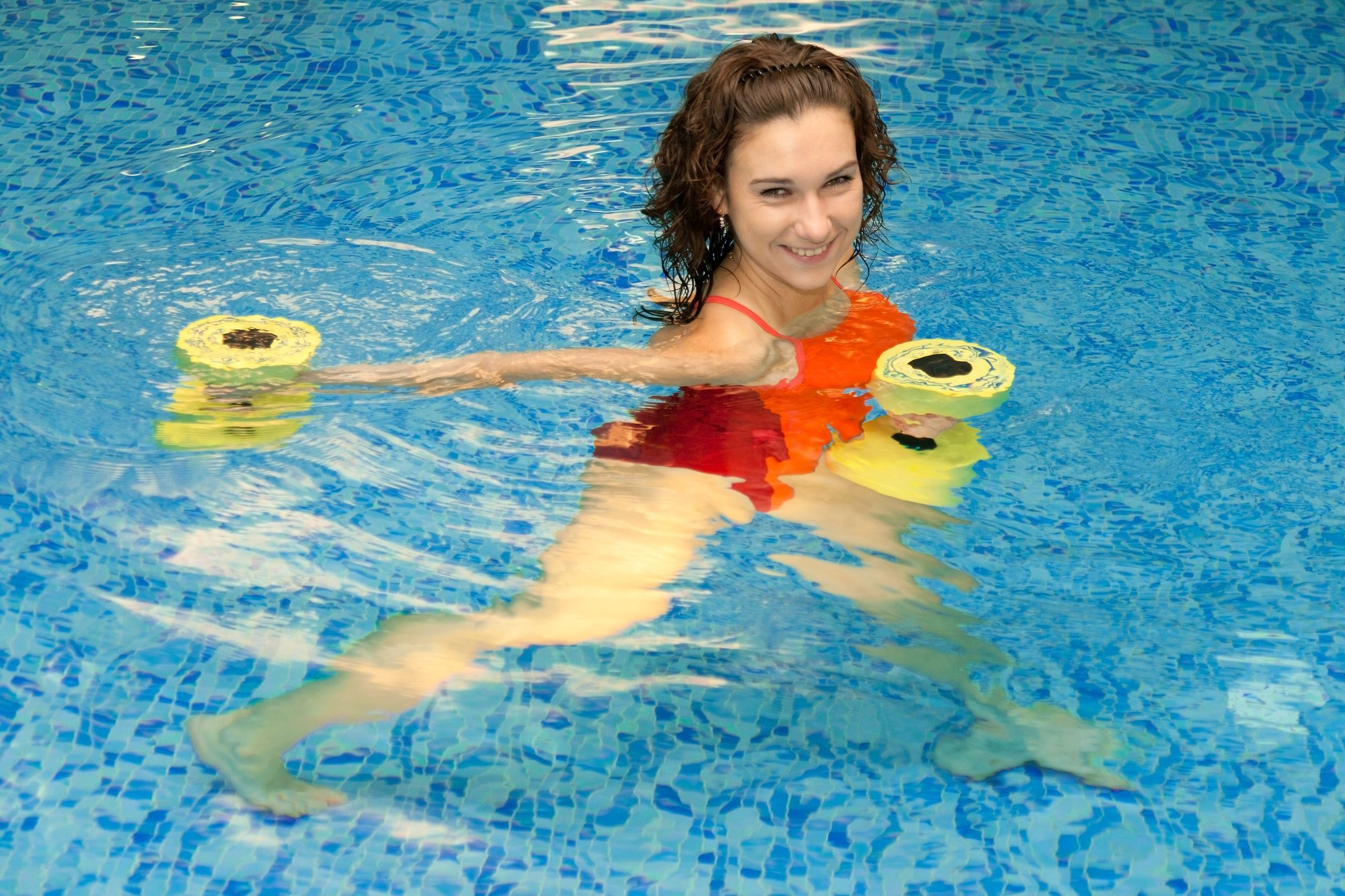 Perfect Pool Exercises Even For Non Swimmers Slendher