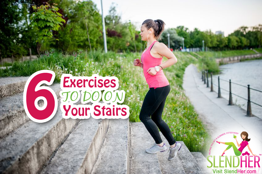 6 stair climbing exercises
