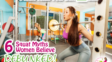Squats Make Your Butt Too Big and 5 Other Squatting Myths Debunked