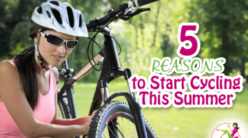 Top 5 Reasons to Start Cycling this Summer!
