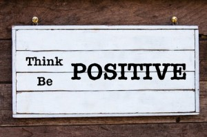 Use positive thoughts to guide you toward your goals.