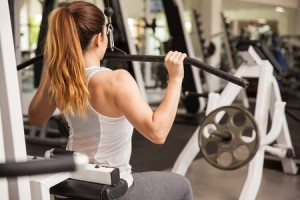 lat pulldown for hourglass shape