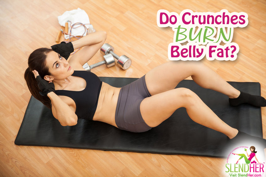 Do Crunches Burn Belly Fat?