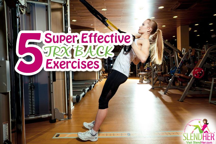 trx back exercises