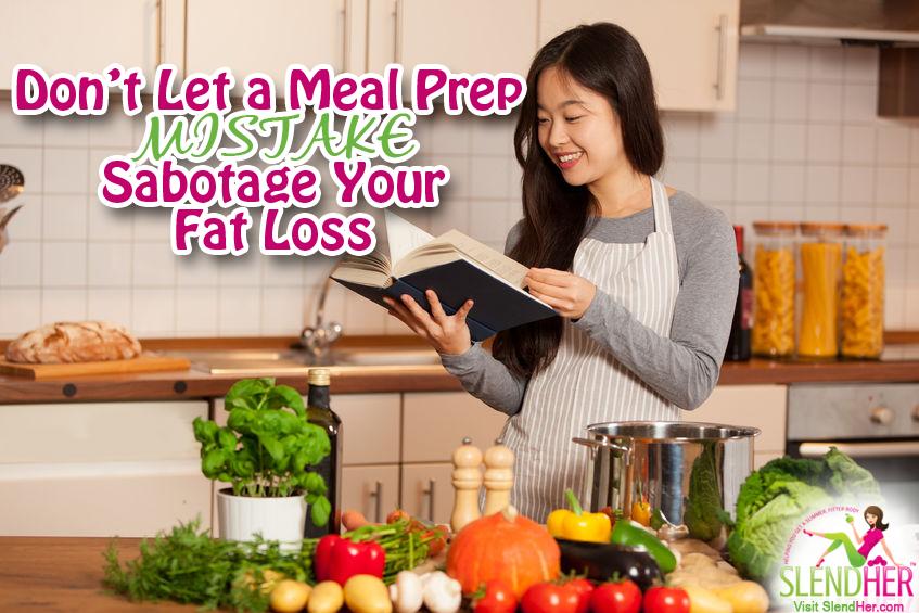Meal Prep Mistake