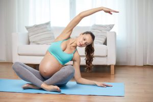 Working out during your pregnancy is good for both you and baby!