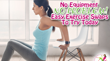 No Equipment, No Problem – Easy Exercise Swaps to Try Today