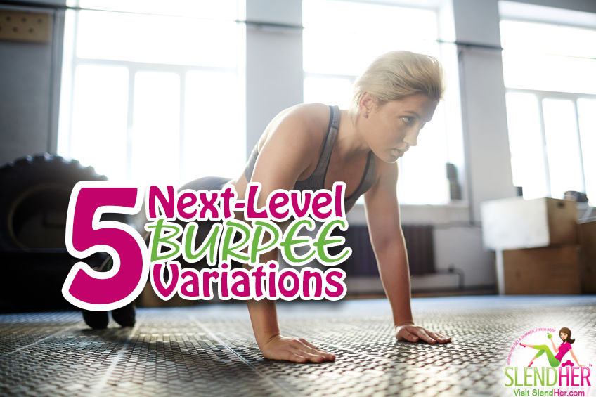 5 Next-Level Burpee Variations