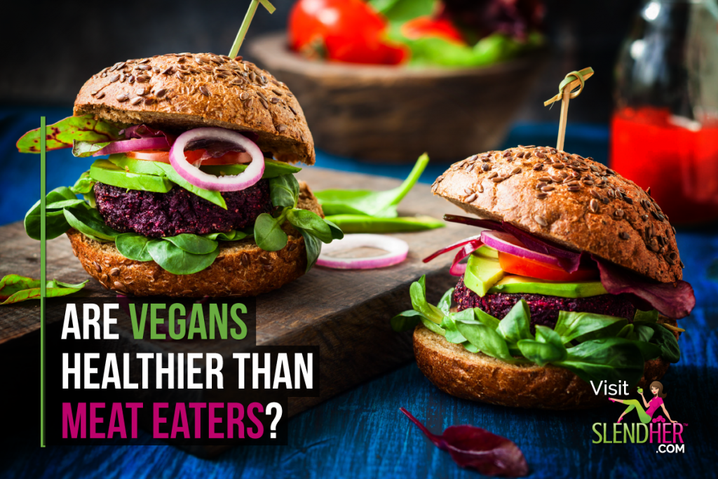 are vegans healthier than meat eaters